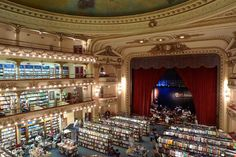 The world's most inspiring bookstores - a 19th-century theater in Buenos Aires, Argentina