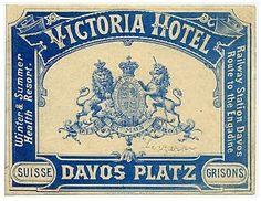 Victoria Hotel etiqueta