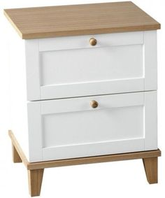 Home 2 Drawer Bedside Table Bedroom Furniture Side Table Wood Pine Clothes Stora  Make the Best this Amazing Opportunity. At Luxury Home Brands WE always Find Great Stuff for you :)