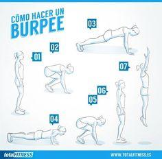 Burpee ! Fitness en Femenino // Totalfitness.es