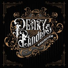 Peaky Blinders handlettered fan art on Behance Peaky Blinders Poster, Peaky Blinders Wallpaper, Peaky Blinders Season, Types Of Lettering, Lettering Design, Lettering Tattoo, Cillian Murphy, Little Man Shower, Vintage Typography
