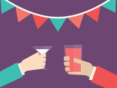 Dribbble - Cheers by Linn Fritz