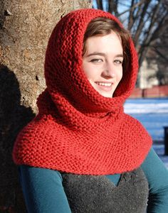 More Hooded Cowls and Balaclavas to Knit – 20 free patterns – Grandmother's Pattern Book