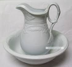 Image result for pictures of antique jug and bowl