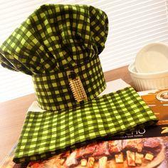 https://flic.kr/p/oLii2j | Kit 'chef'  Chapéu + pano de prato   fuxicochiq  #handmade #tissu #tecido #xadrez #verde #cores #cotton #chef #gourmet #chefgourmet #home #cozinhandoemcasa #chapéu #panodeprato #casa #kitcozinha #kitchef #Man #rapazes #meninas #patchwork #cozinhandocomgla