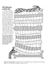 Princess and the Pea Maze. Brings back memories!
