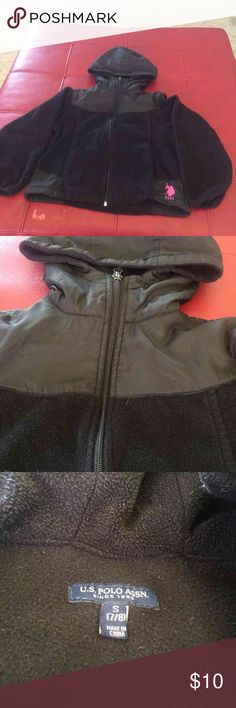 Very cute girls jacket This is a Very cute girls jacket, it's lightweight but at the same time very warm. Can be used year round with almost everything. My sister wore this until the sleeves became too short. U.S. Polo Assn. Jackets & Coats