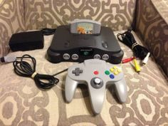 Nintendo 64 N64 Console Bundle With Game Working Tested Star Wars Racer