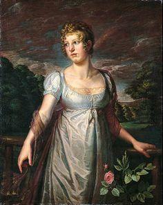 Philipp Otto Runge - Bildnis der Wilhelmina Sophia Helwig (1807).