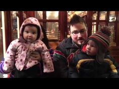 The Hird Family Singers on the Burnaby Commuter Train - YouTube