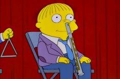 Ralph Wiggum - The Simpsons Simpsons Quotes, The Simpsons, Simpsons Funny, Los Simsons, Ralph Wiggum, Friday Humor, Cartoon Pics, Cool Cartoons, Vintage Cartoon
