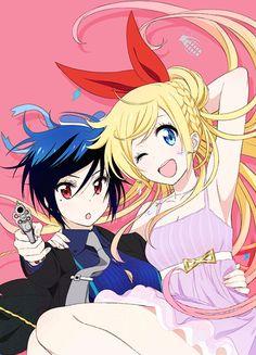My fave girls Tsugumi and Chitoge.