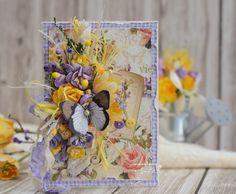 Сундучок вдохновения: Дело№5: Желтый цвет + Пуговица + Цветок