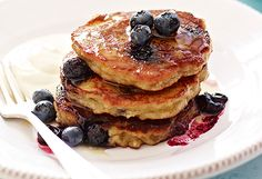 You can enjoy pancakes any day of the year — not just as part of one last day of indulgence before Lent. So if you need an excuse to whip up a batch of delicious pancakes, you won't regret these delicious dishes. Click through to pancake heaven.