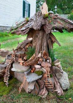 Magical Beautiful Fairy Garden Ideas 271