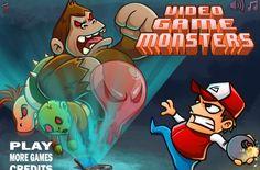 لعبة محاربة وحوش الفيديو جيم لعبة حلوة من العاب اكشن الرائعة جداً علي العاب فلاش ميزو.