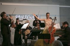 Chamber music festival at Swarovski Kristallwelten: Music in the Giant 2015 with Cappella Gabetta.