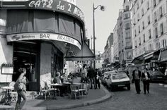 """Cafe des Deux Moulins"" [French Girl in Seattle: A tribute to Parisian cafés...]"