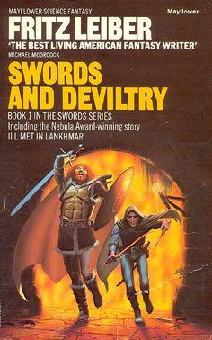 FRITZ LEIBER - SWORDS AND DEVILTRY by Mavmaramis, via Flickr