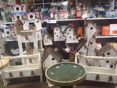 Get a gift for yourself this year with these rustic looking bird houses and bird baths! Pet Christmas Presents, Bird Baths, Bird Houses, Your Favorite, Unique Gifts, Seasons, Rustic, Pets, Outdoor Decor