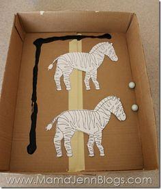 Zz for Zebra Craft
