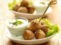 Vegetarian meatballs that taste good—The Meatball Shop in Manhattan sells dozens of meatballs, but some of their most popular varieties don't actually contain not the only . Tapas, Vegetarian Meatballs, Vegetarian Recipes, Veggie Meatballs, Vegetarian Options, Appetizer Recipes, Snack Recipes, Cooking Recipes, Wine Recipes