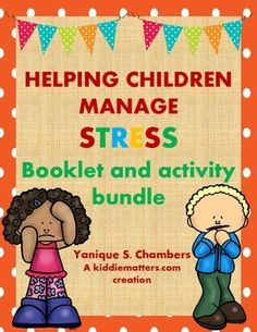 The Helping Children Cope With Stress E-book explains what stress is and how to cope with stress in kid-friendly language.  Perfect for children in grades 3-8.