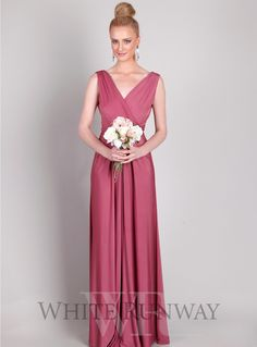 Bridesmaid Dresses Old Rose Color