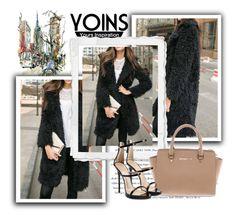 """yoins 2."" by lara-m21 ❤ liked on Polyvore featuring Michael Kors, Giuseppe Zanotti, Envi:, yoins and loveyoins"