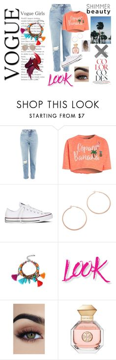 """Bassss1ne"" by americaord on Polyvore featuring moda, Topshop, Converse, Jennifer Zeuner, NYX, Tory Burch y Christian Dior"