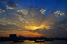 """Sunset"" by Sanjiban Ghosh"