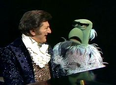 Liberace & Sam the eagle on The Muppet Show