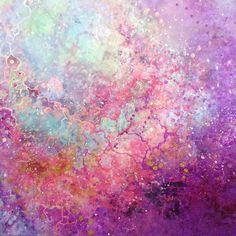 Emma Lindström - Akaleyi. Acrylic on canvas. 100x100 cm