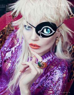 Illuminati eyepatch -A Salvador Dali Illuminati style eye-patch – price on application in another dimension – feels perfect for Mercury Retrograde in Aquarius