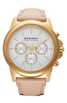 Sperry leather strap watch http://rstyle.me/n/jy4m5r9te