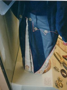 Rear view, Habit, Voltigere, 37th Line Infantry Regiment (1807-1812)