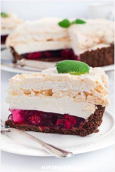 tarta malinowa Vanilla Cake, Pastries, Cakes, Cooking, Sweet, Desserts, Food, Kitchen, Candy