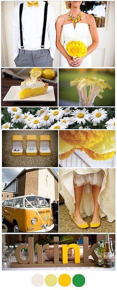 White and yellow!