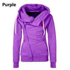 New Fashion Solid Women Hoodies Sweatshirts Spring Autumn Hoodies Women Zipper Design Thicken Hoody Women Hoody Sweatshirt