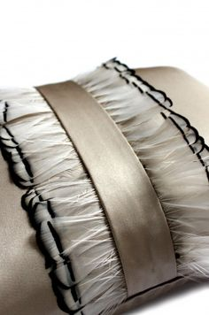 Dip Dye Feather Detail | Aiveen Daly