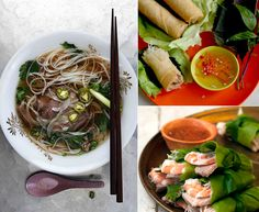 Menu: Vietnamese Pho Dinner- Heady, rich, and throughly warming, large steaming bowls of traditional Vietnamese beef and rice noodles pho is the perfect centerpiece for a cold-weather weekend gathering.
