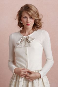 Colony Club Cardigan in SHOP Shoes & Accessories Cover Ups at BHLDN