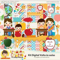 Kit digital Volta às aulas