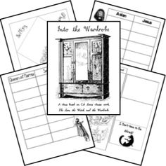 Lion, Witch, & Wardrobe Lapbook