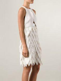 Giambattista Valli petal applique dress