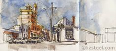 TasTrip: Street Scenes vs Iconic Building Sketches Liz Steel