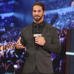Seth Rollins vists ESPN ahead of SummerSlam: photos