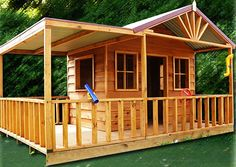 Lizard Lodge- The Lizard Lodge brings hours of entertainment and creative play to kids who love the lizards. Great for imagination play, this cubby house is sure to delight your children.