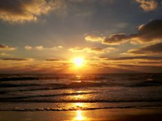 """'Show me the Sunshine' photo contest. Photo submitted by Lisa G- """"There is nothing like the sun shining brightly as it rises up from the ocean. More precious than gold."""" #sunrise #CapeHatteras #OBX"""