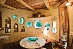 cob house kitchens - Google Search